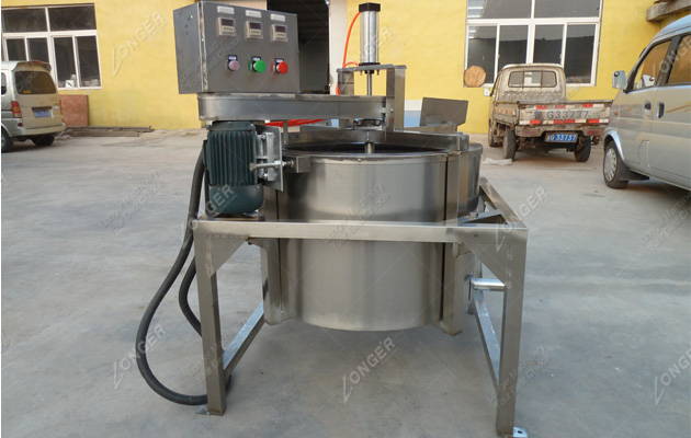 Fried Food Deoiling Machine|Fried Food Oil Removing Machine