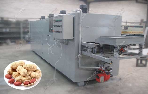 Commercial Belt Type Peanut Roasting Machine Manufacturers