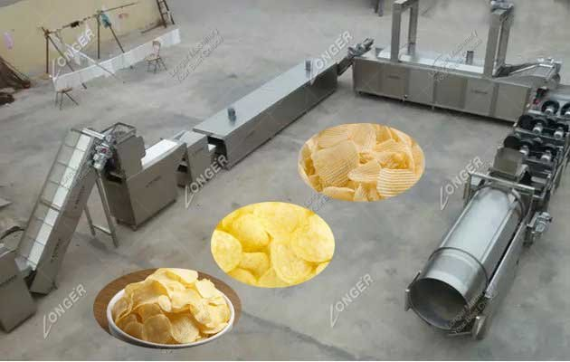 Compound Potato Chips Making Machines|Potato Chips Production Line