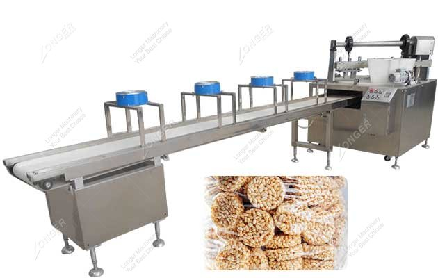 Puffed cereal bar Production Li