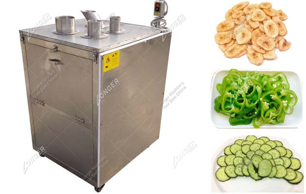 Commercial Adjustable Plantain Chip Slicer Cutting Machine