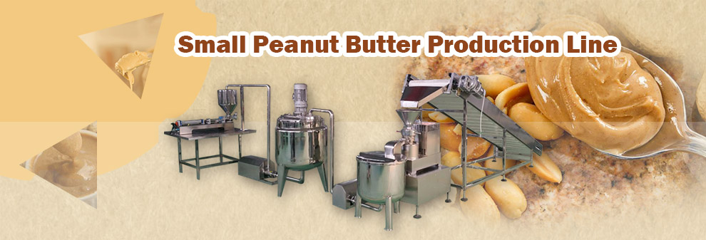 Industrial Peanut Butter Making