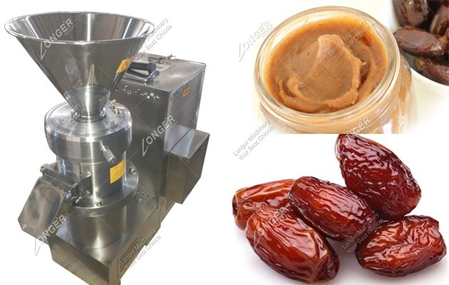 High Speed Commercial Jujube Date Palm Grinding Machine