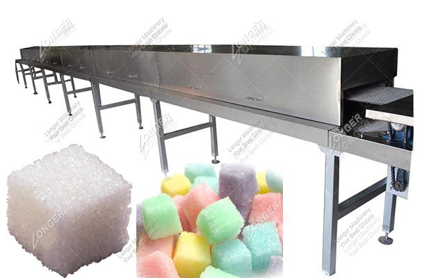 Infrared Drying Tunnel In Sugar Cube Food Industry For Sale