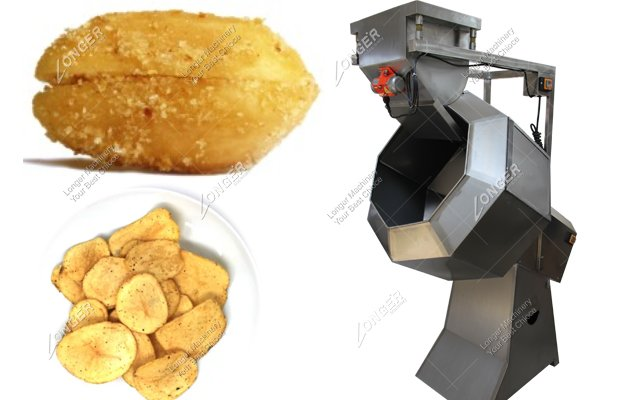 Commercial Snack Flavoring Machine For Fried Food Manufacturer