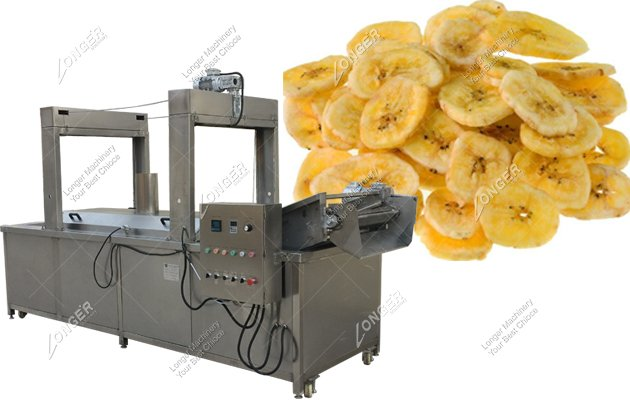 Commercial Banana Chips Frying Machine With Factory Price