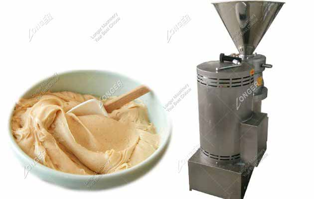 Stainless Steel Smart Industrial Peanut Butter Making Machine