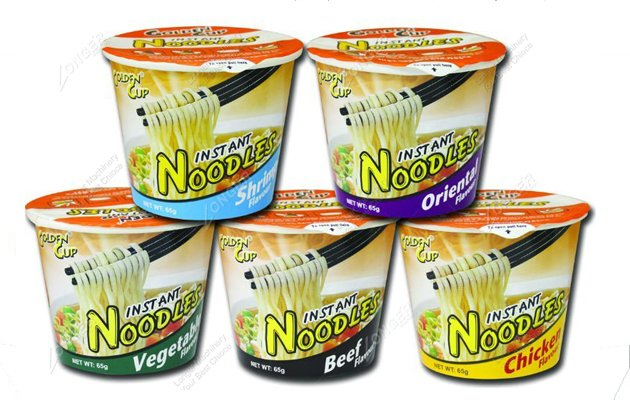Machine Production Bowl Noodles