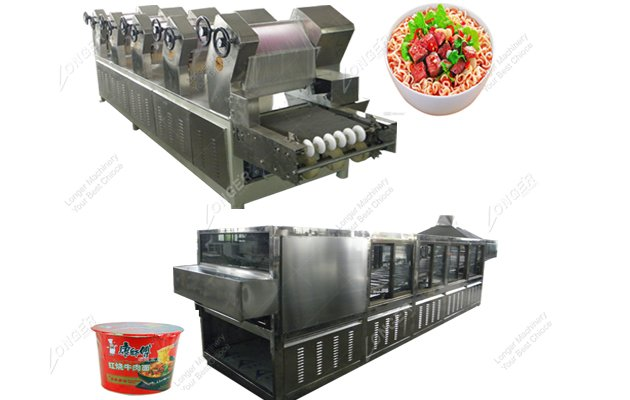 Bowl/Cup Instant Noodles Production Line