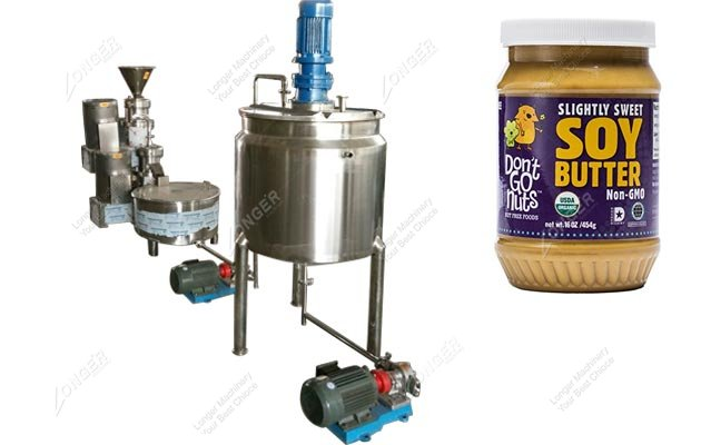 Soybean Butter Making Machine Line