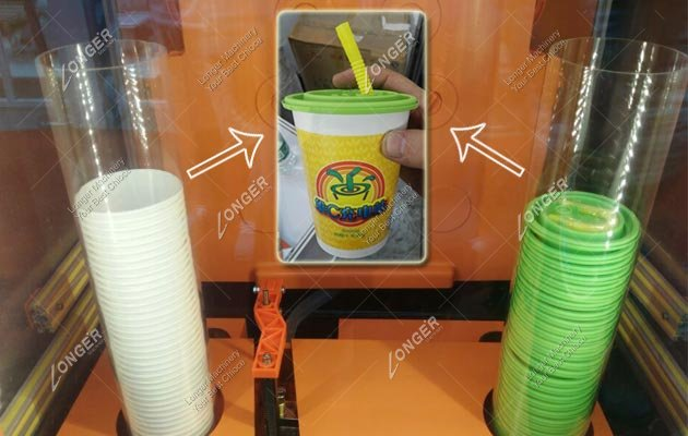 Automated Squeezed Fresh Orange Juice Vending Machine Manufacturer