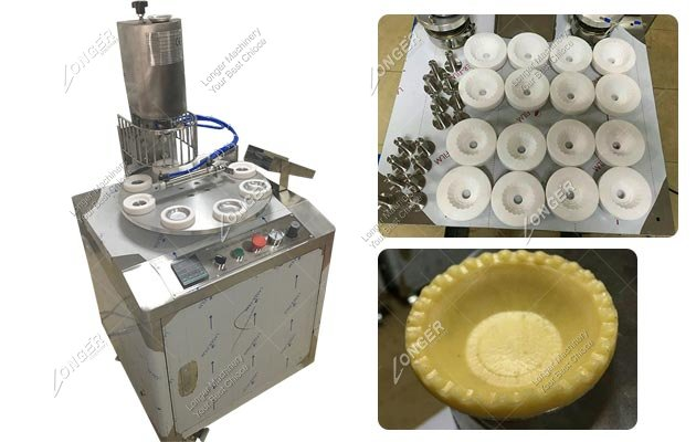 Automatic Egg Tart Shell Pressing Machine