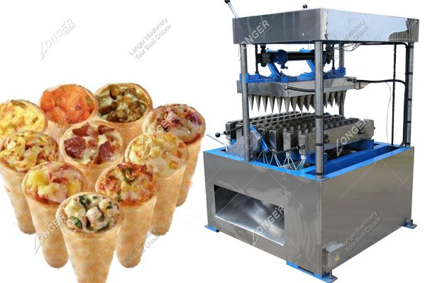 LG60C Semi Automatic Kono Pizza Cone Machine For Sale Suppliers